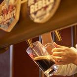 オリジナルビール6種と、輸入ビール2種をラインナップ!