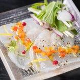本日の魚貝類創作料理