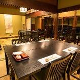 1階メインダイニングは30名様までの個室としても利用可能です