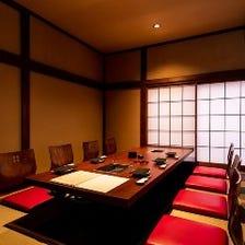 ◆完全個室で贅沢なひと時を