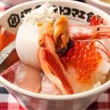 オトコマエミニ海鮮丼