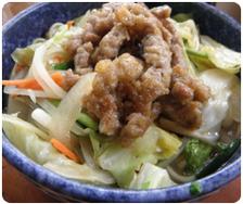 【 大人気 】肉野菜そば 630円
