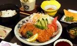 ヒレカツ定食  1,000円