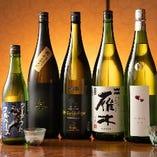 [鶏との相性◎] 日本酒、銘柄焼酎やハイボールを豊富にご用意♪