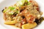 ゴルゴンゾーラのイタリアン回鍋肉