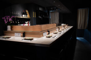 串焼旬菜 楽  店内の画像