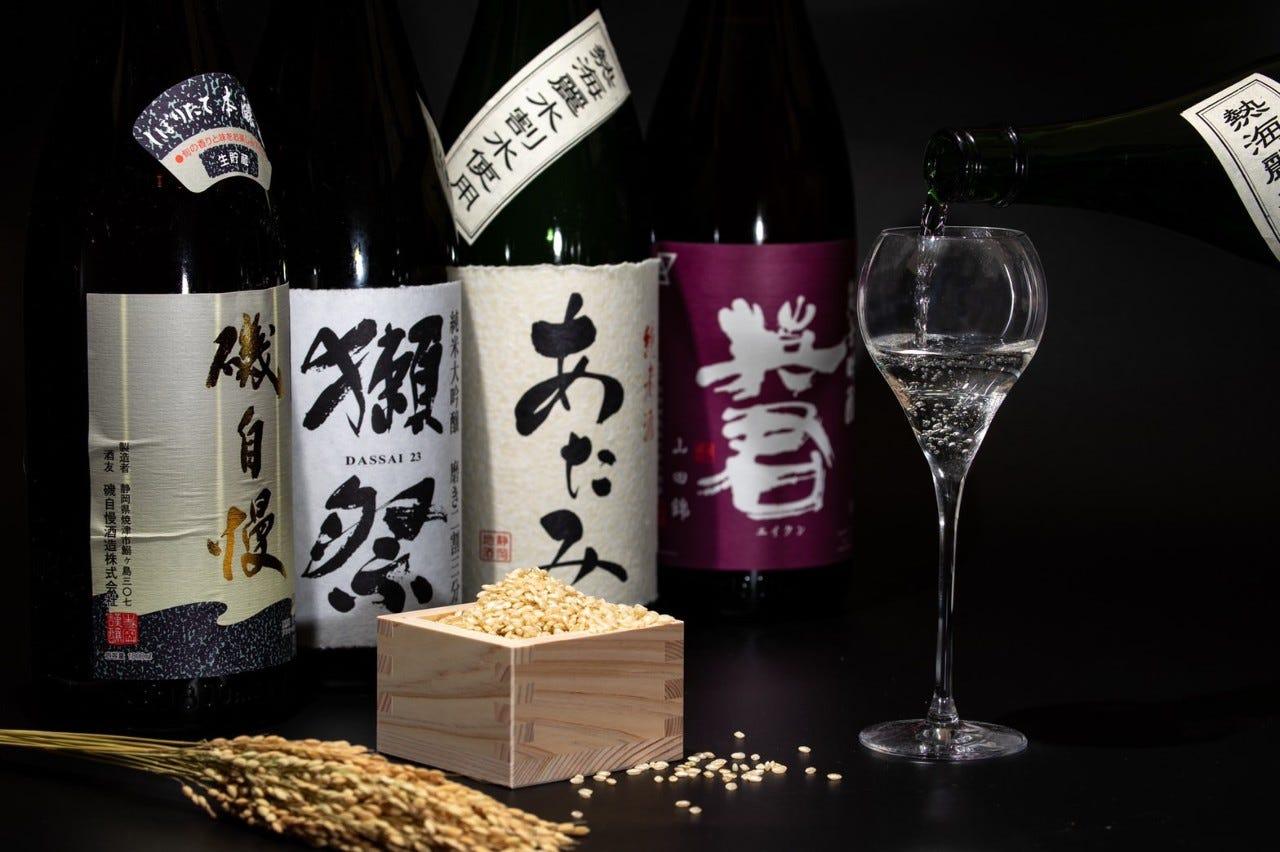 静岡の地酒が充実!