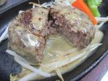 淡路牛使用 特製ハンバーグステーキ200g