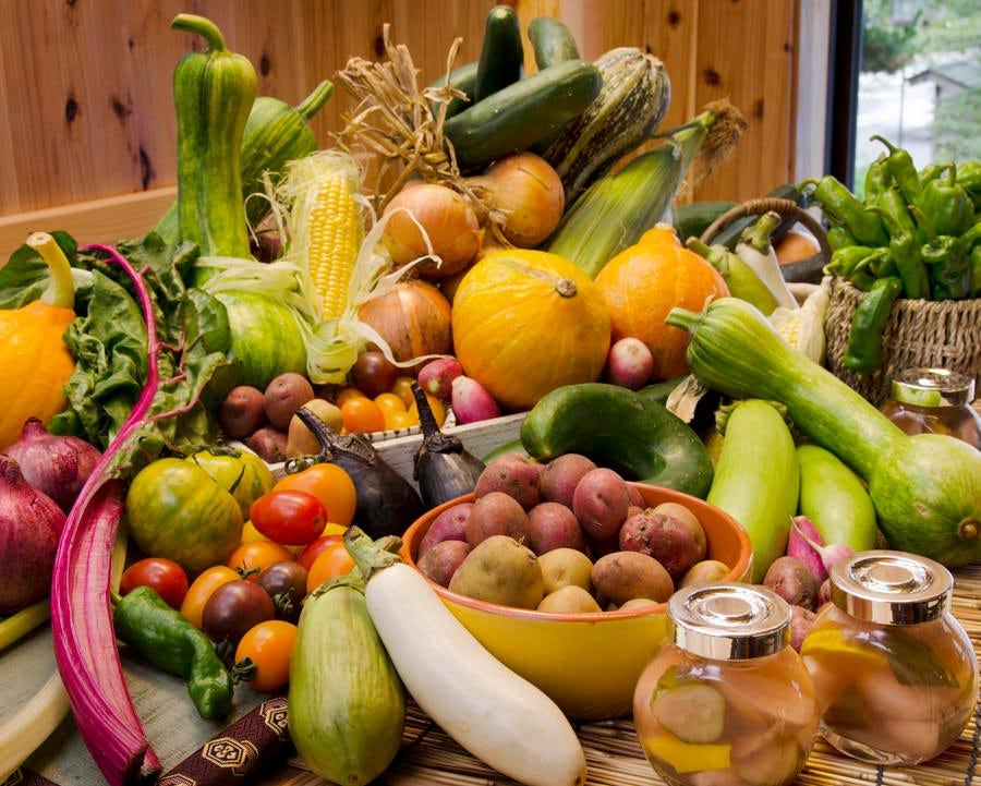 彩り豊かな地元野菜