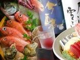 ■今が旬の食材を使ったお料理  お食事でも飲みでもどうぞ!
