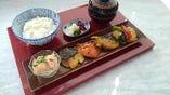 魚の味噌漬け焼き三種合せ膳