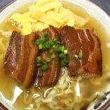 三枚肉そば(大)
