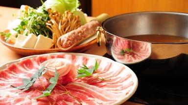 沖縄直送あぐー豚専門店 しゃぶ邸よろこび 池袋店 コースの画像