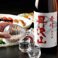 日本酒や焼酎、サワーなどお好みで