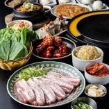 【鶴橋で韓国料理】各種宴会コース ¥4,000~ご用意しております