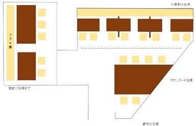 心斎橋 にし家 グランフロント大阪店 店内の画像