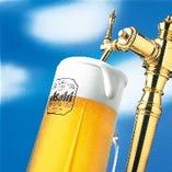 ビールはもちろん、各種アルコールもご用意しております。