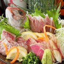 毎朝川崎北部市場より旬な魚を厳選!
