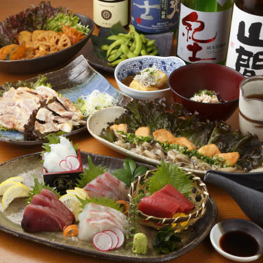 47都道府県地酒と季節の鮮魚 UMAMI(ウマミ)日本酒弐番館 コースの画像