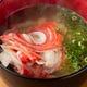 海鮮食材を生かした一品料理が豊富。