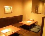 【4名席×2】1階 掘りごたつ席