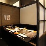 完全個室・無煙ロースター完備 6名掛けテーブル席