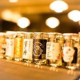 週替りで銘柄日本酒を!399円~ご用意!