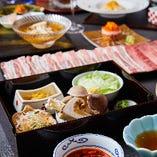 厳選した国産食材の本来の味をお楽しみください。