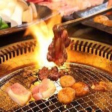 新鮮な地鶏を焼肉スタイルで!