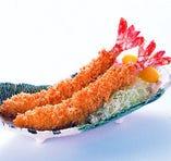 天然大海老フライ定食