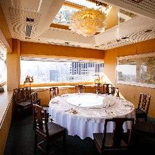 豪華な会食や接待に相応しい貴賓室