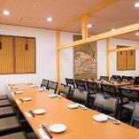 テーブル席 函館最大級居酒屋 最大200名収容