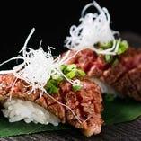 限定のお得な食べ放題登場!話題の肉寿司をご堪能ください。