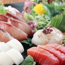 【2時間[飲放]付】焼き鳥も鮮魚もどちらも食べたい!という方に贅を尽くした≪絆贅沢コース4000円(税込)≫
