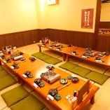 最大40名様着席可能な個室有り◎ご宴会にぴったり☆