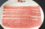 ◆ 和牛薄切カルビ