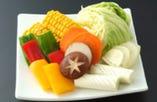 得々盛/家族盛/まんぷく盛/人気盛 ご注文のお客様には野菜焼が付いてお得!