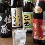 日本酒や焼酎なども豊富な品揃え