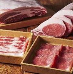 北海道つや姫豚とたんしゃぶ食べ放題(寿司食べ放題付)