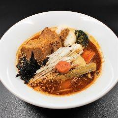 豚ロースの角煮スパイスラーメン 煮干スープ