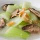 青菜と干し貝柱の炒め