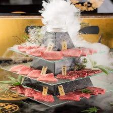 誕生日や記念日のお祝いに☆肉タワー