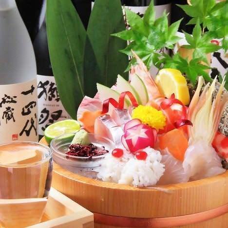 新鮮な鮮魚を使用