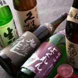 日本酒は選り抜いたこだわりの品を随時入荷中!レアなものも!?