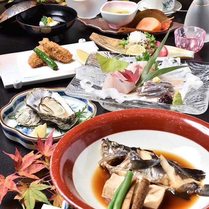 瀬戸内の四季を味わう会席料理