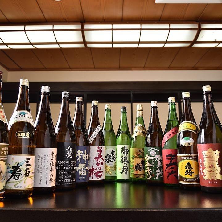 広島のお酒を中心に幅広く取り揃え