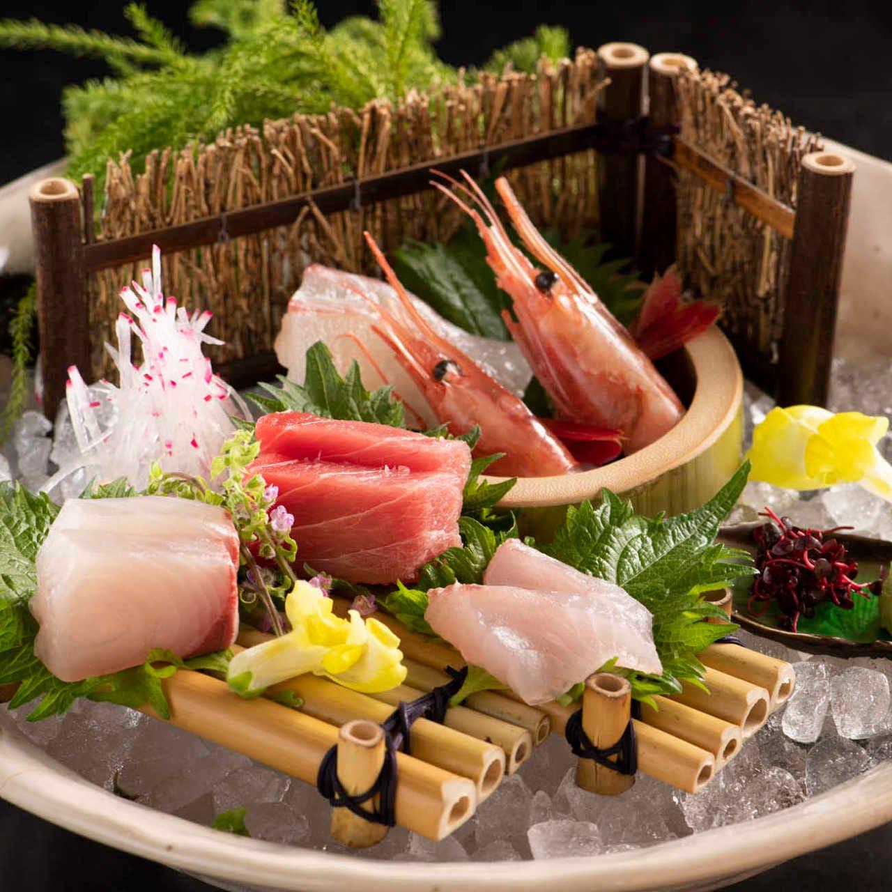 焼酎や日本酒にぜひ。本格和食をぜひどうぞ。