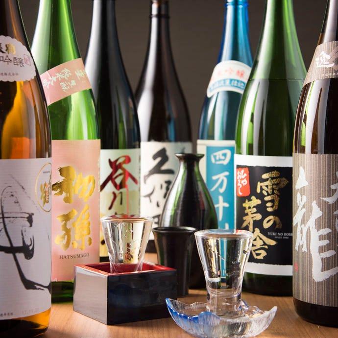 お酒にもよく合う特選おつまみを揃えたコースもございます。
