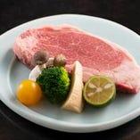 山形牛サーロインステーキ 5等級