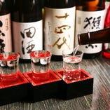 日本全国のお酒をご用意!お気に入りの1杯が見つかります!